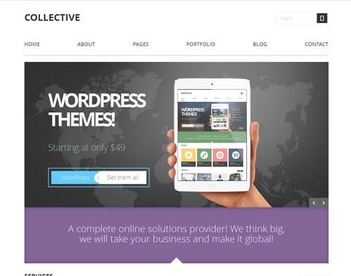 Thème Wordpress Collective