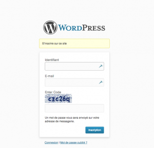 captcha-inscription-wordpress